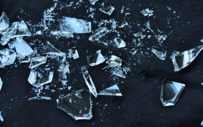 Het verwerken van glasafval in restaurants